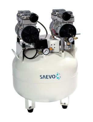 Compressor Odontológico 2 Consultórios BioQualyAir 65L Saevo
