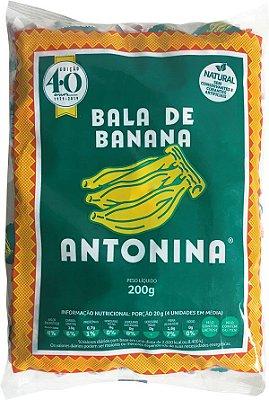 BALA DE BANANA - PACOTE 200g