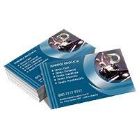 Cartão de Visita com Laminação Fosca 500 Unidades