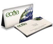 Cartão de Visita em Papel Reciclato 4x4 Cores 1.000 Unidades
