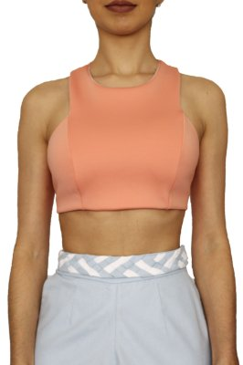 Top Cropped Recortes Neoprene