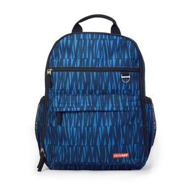 Bolsa Maternidade Skip Hop - Coleção Duo Signature - Backpack (Mochila) Cor Blue Graffiti