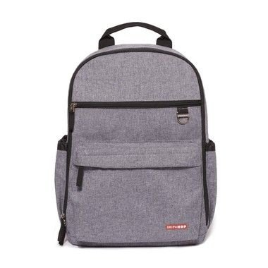 Bolsa Maternidade SKIPHOP ( Diaper Bag) Duo Signature - Backpack (Mochila) Heather Grey