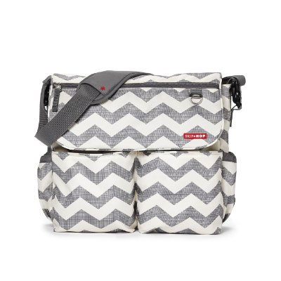 Bolsa Maternidade SKIPHOP (Diaper Bag) Dash Signature Chevron