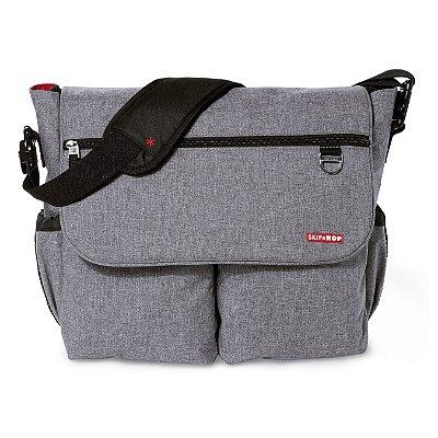 Bolsa Maternidade (Diaper Bag) Dash Signature Heather Grey