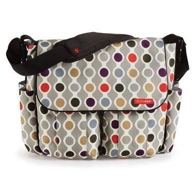 Bolsa Maternidade (Diaper Bag) Dash Deluxe Wave Dot
