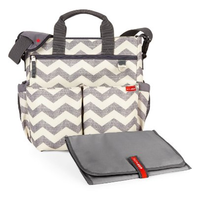 Bolsa Maternidade (Diaper Bag) Duo Signature Chevron