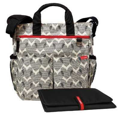 Bolsa Maternidade SKIPHOP (Diaper Bag) Duo Signature Hearts