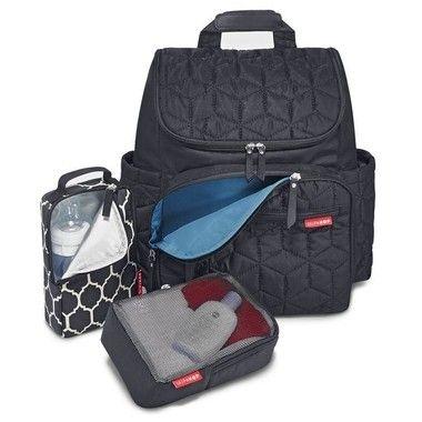 Bolsa Maternidade (DiaperBag) - Forma Backpack (mochila) - Black - Acompanha 2 necessaire e um trocador!!