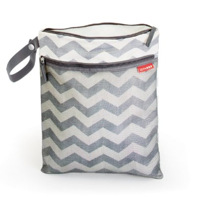 Bolsa Wet and Dry - Linha On-The-Go - Estampa Chevron