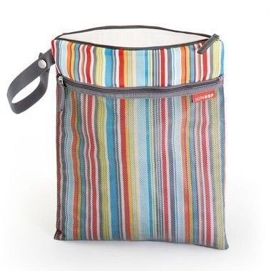 Bolsa Seco e Molhado SKIPHOP (On The Go) Wet/Dry Bag - Metro Stripes