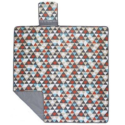 Central Park Blanket Skip Hop - Linha On-The-Go - Estampa Triangles