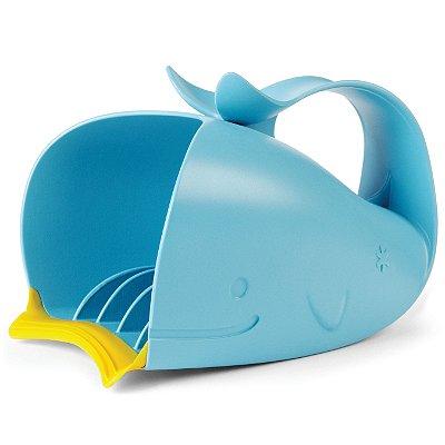 Moby Enxaguador Skip Hop - O banho mais alegre com a Baleia azul