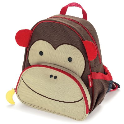 Mochila Skip Hop - Linha Zoo - Coleção Macaco