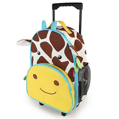 Mochila de Rodinhas Skip Hop - Linha Zoo - Coleção Girafa