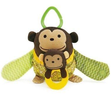 Pelucia Mamãe Filhinho - Macaco Skip Hop ***ULTIMAS UNIDADES***