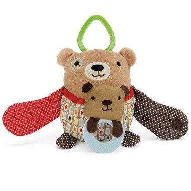 Pelucia Mamãe Filhinho - Urso