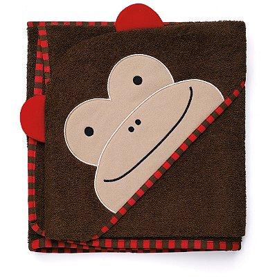 Toalha de banho Infantil Skip Hop - Linha Zoo - Coleção Macaco