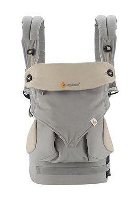 Canguru Ergobaby - Modelo 360 - 4 posições de uso - cor Grey