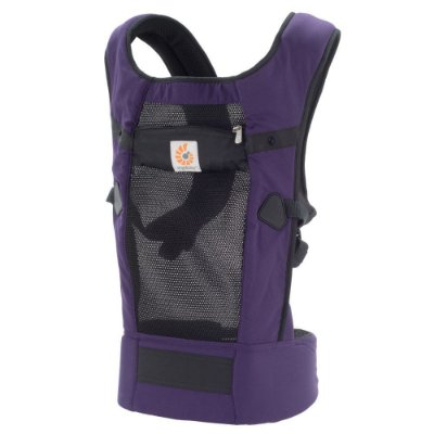 Canguru Ergobaby - Modelo Ventus Performance - Tecnologia Cool Air Mesh - Cor Purple