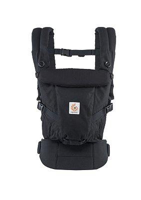 Canguru Ergobaby - Modelo Adapt - Acompanha seu bebê desde o nascimento - cor Black