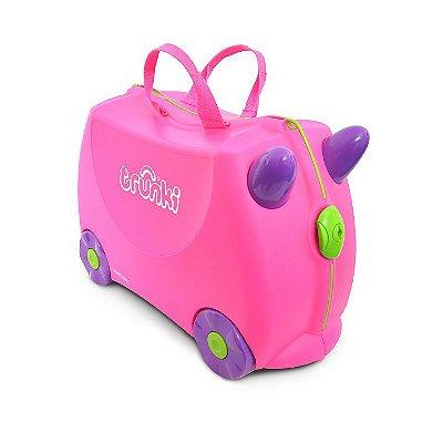 Mala Infantil Trunki - Trixie - Sua viagem muito mais divertida - cor Rosa