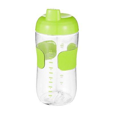 Copo Infantil Anti Vazamento com tampa - 325 ml - verde - OXOtot