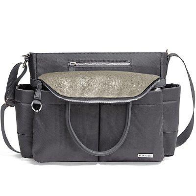 Bolsa Maternidade (Diaper Bag) Chelsea - Charcoal Shimmer - NOVA COR  !!!