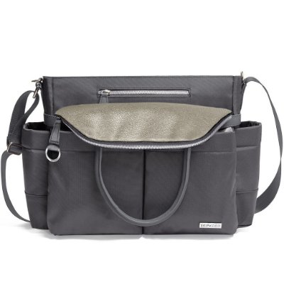 Bolsa Maternidade SKIPHOP (Diaper Bag) Chelsea - Charcoal Shimmer