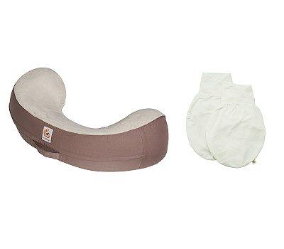 COMBO:  Swaddler (Natural/Natural - Pequeno/Médio) + Nursing Pillow (capa extra)