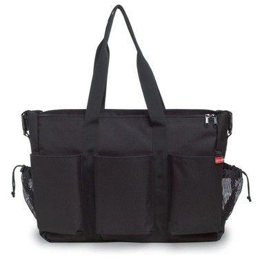 Bolsa Maternidade - Diaper Bag - Duo Double Deluxe - Black *********** SUPER PROMOÇÃO -> ULTIMAS UNIDADES *************