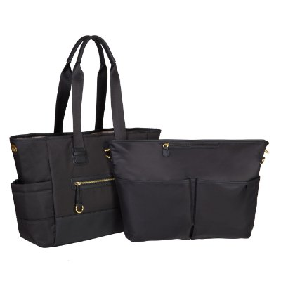 Bolsa Maternidade (Diaper Bag) - Chelsea 2 in 1 - Black