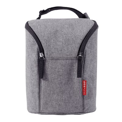 Bolsa termica para mamadeira - Double Bottle Bag - (On the Go) - Heather Grey