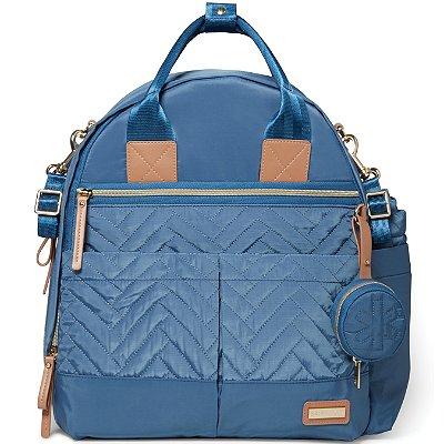 Bolsa Maternidade Skip Hop - Coleção Suite Backpack 6 Peças - Dusky Blue