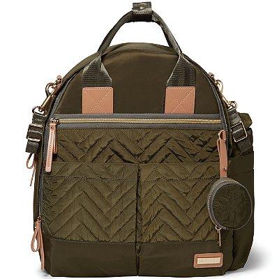 Bolsa Maternidade SKIPHOP (Diaper Bag) - Suite Backpack 6 Peças - Olive