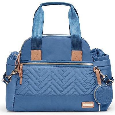 Bolsa Maternidade SKIPHOP (Diaper Bag) -Suite Satchel Set 6 Peças - Dusk Blue