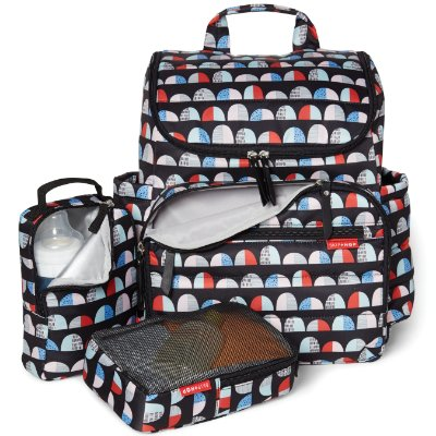 Bolsa Maternidade SKIPHOP (DiaperBag) - Forma Backpack (mochila) - Dome