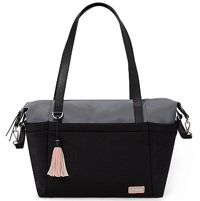 Bolsa Maternidade SKIPHOP (Diaper Bag) - Nolita Neoprene Black Grey ****LANÇAMENTO MUNDIAL****