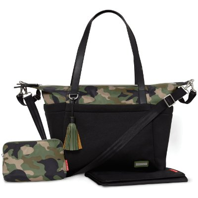 Bolsa Maternidade SKIPHOP (Diaper Bag) - Nolita Neoprene Black - Skip Hop ****PROMOCAO SETEMBRO CHEGOU !!!******
