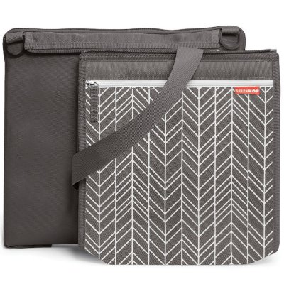 Central Park Blanket Skip Hop - Linha On-The-Go - Cor Grey Feather