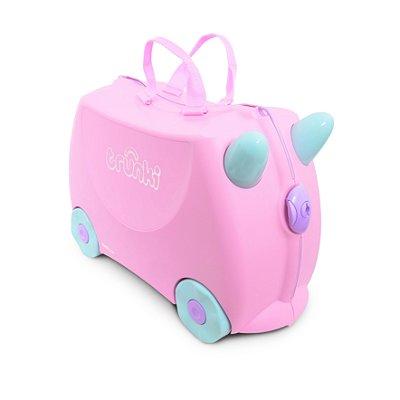 Mala Infantil Trunki - Rosie - Sua viagem muito mais divertida - cor Pink