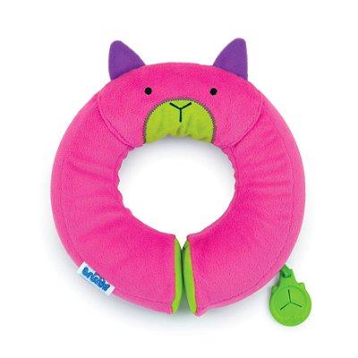 Almofada Yondi Trunki - Modelo Gatinha Betsy - Almofada de Pescoço Divertida - Cor Pink