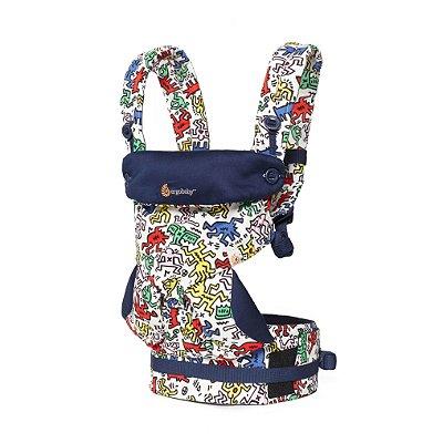 Canguru Ergobaby - Modelo 360 - 4 posições de uso - Edição Especial Keith Haring Pop