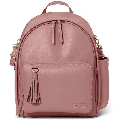 Bolsa Maternidade Skip Hop - Coleção Greenwich Simply Chic Backpack ( mochila) Dusty Rose
