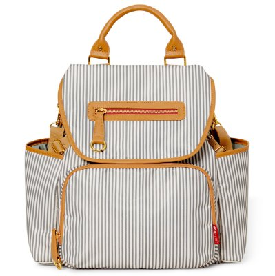 Bolsa Maternidade Skip Hop - Coleção Grand Central Take-it-All Backpack ( Mochila) - French Stripe
