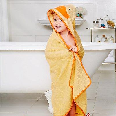 Toalha de banho Infantil Skip Hop - Linha Zoo - Coleção Pato