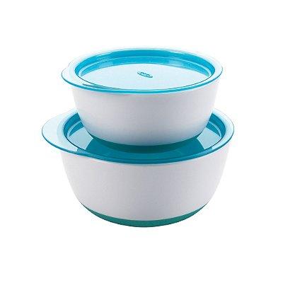 Conjunto de bowls OXOTot - Cor Aqua