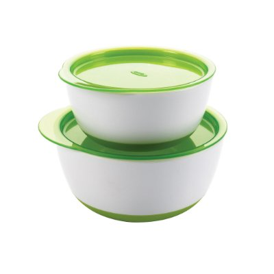 Conjunto de bowls OXOTot - Cor Verde