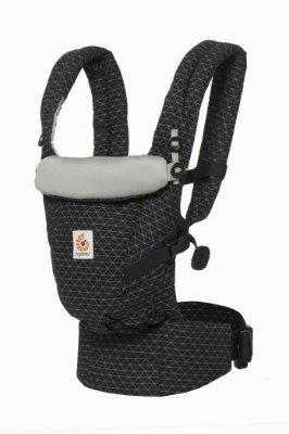 Canguru Ergobaby - Modelo Adapt - Acompanha seu bebê desde o nascimento - cor Geo Black