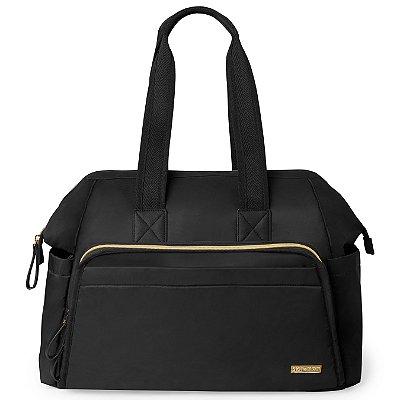 Bolsa Maternidade (Diaper Bag) MainFrame Satchel  - Black  Skip Hop